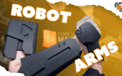 Foam Robot Arms! – Destiny Sweeper Bot Build