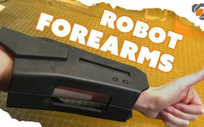 EVA Foam Forearms – Destiny Sweeper Bot Build