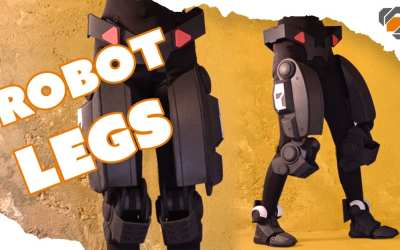 EVA Foam Robot Legs – Destiny Sweeper Bot Build
