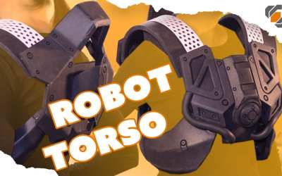 Foam Armor Chest Piece – Destiny Sweeper Bot Build