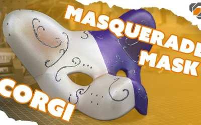 Corgi Dog Masquerade Mask – One Day Build with Domestic Dan