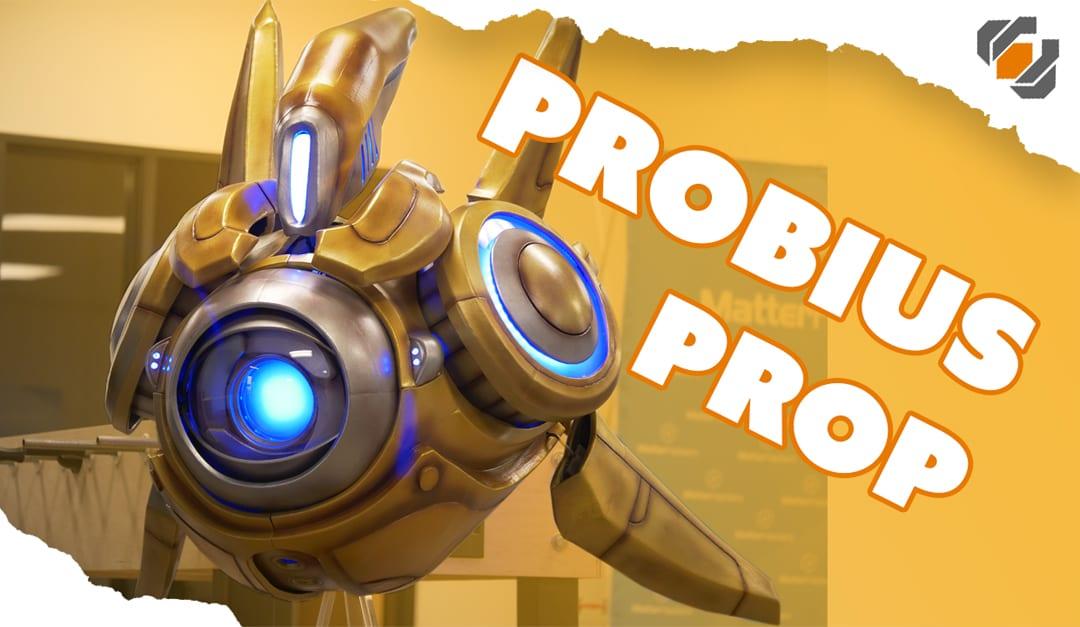 Probius the Protoss Probe – Prop Build Tutorials