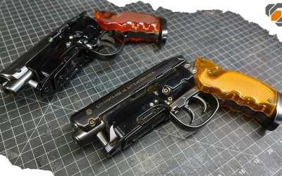 Blade Runner Blaster RAC Props Kit vs. Squirt Gun Repaint