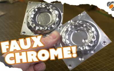 HOW TO – Paint a Faux CHROME Finish on Your Props – TUTORIAL