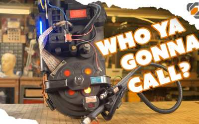 Ghostbusters PROTON PACK Prop – Cheap Toy REPAINT Tutorial