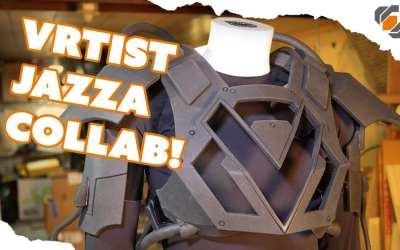 Foam Armor – VRtist Jazza Collab – Part 1