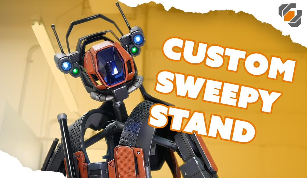 Custom Mannequin Display – Sweeper Bot Costume