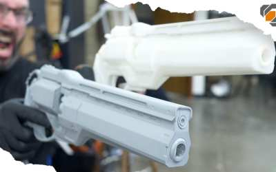 How to Make a Two Part Silicone Mold – Destiny Hand Cannon Casting