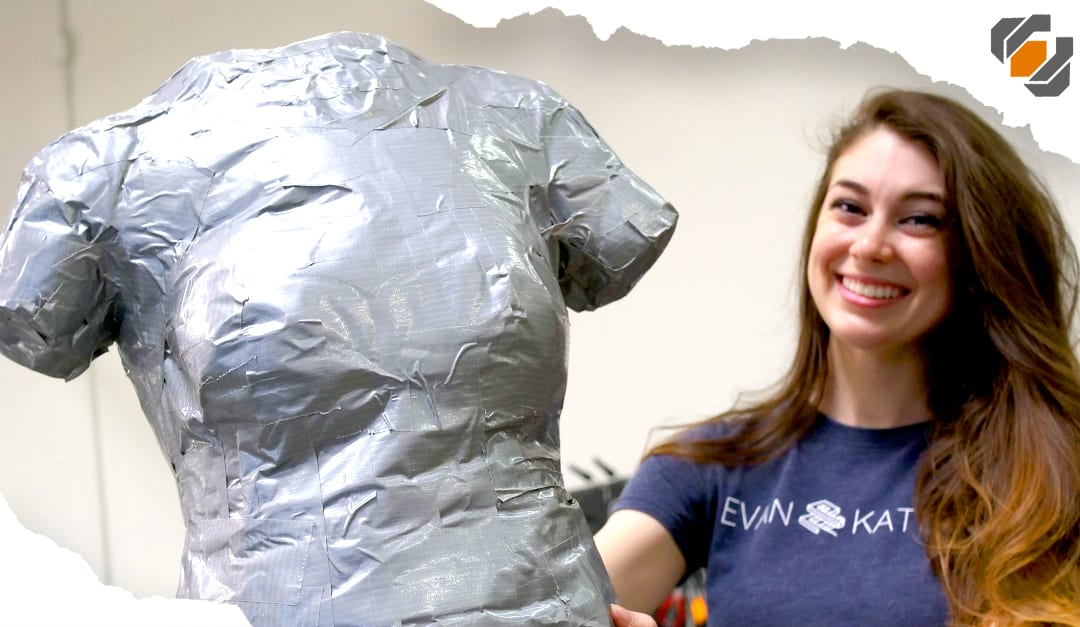 How to Make a DUCT TAPE DUMMY – Tutorial with Evan & Katelyn