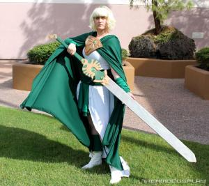 "Costume by <a href=""http://www.thermocosplay.com/"">Thermo Cosplay</a>"