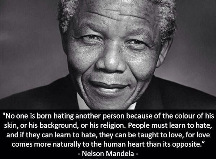 Nelson Mandela & Teaching Invictus