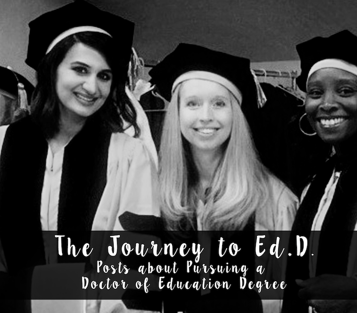 The Journey to Ed.D