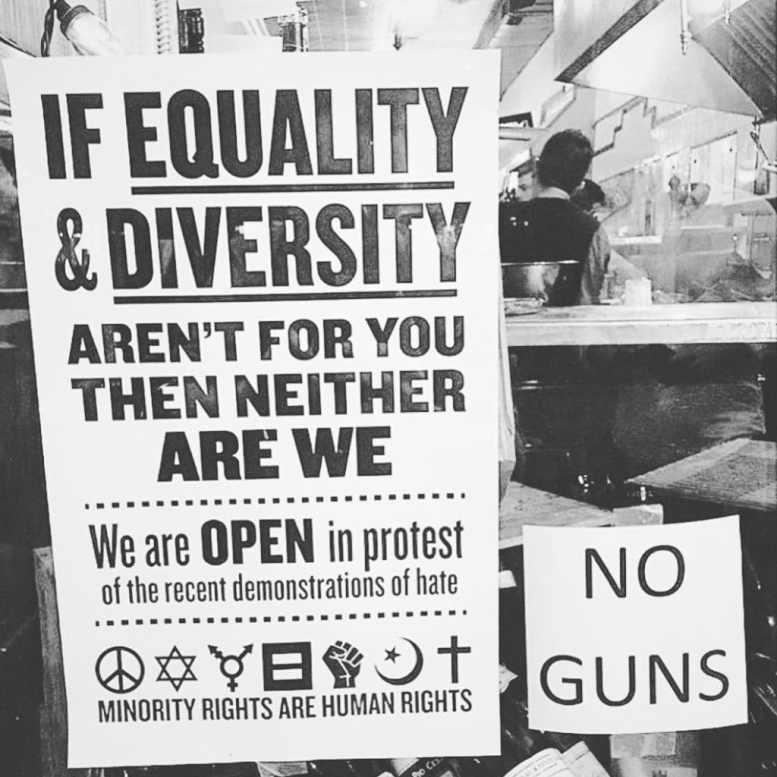 Photo by Andy B. Campbell. Equality & Diversity. Charlottesville, VA. Things from around the internet.
