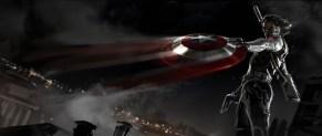 Captain America: The Winter Soldier (artwork by Ryan Meinerding)