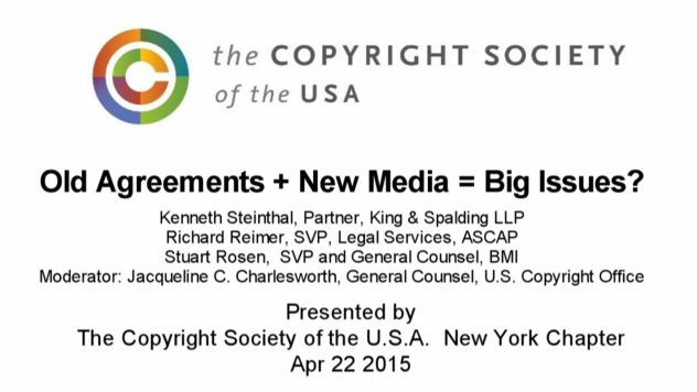 CSUSA - Old Agreements + New Nedia = Big Issues? - April 22 2015