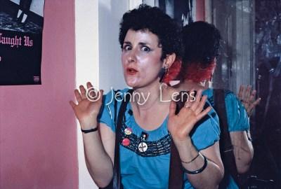 Jenny Lens, England, July 1980