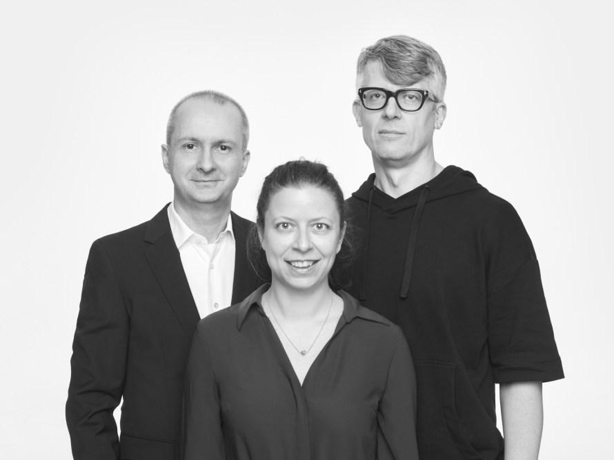 Balról jobbra: Baki Péter, Barta Edit, Cséka György. Fotó: Máté Balázs @ Flashback.