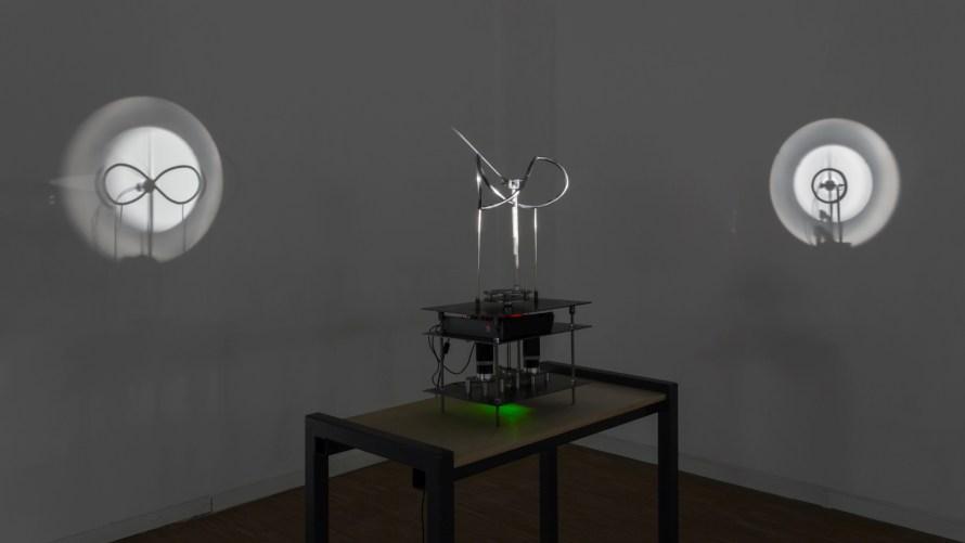 Attila Csörgő: Clock-work, 2011. Photo:  Tamás Juhász G.
