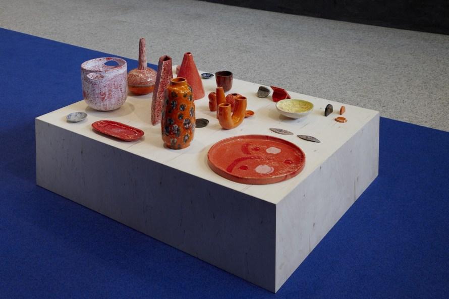 Ember Sári: Since Our Stories All Sound Alike 2018, installáció, Galleria Campari. A Molnár Ani Galéria jóvoltából.