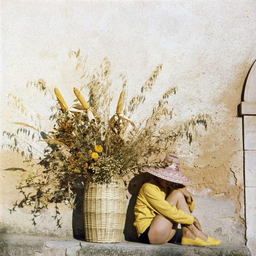 Jacques Henri Lartigue, Florette, Piozzo, Olaszország, 1960 © Ministère de la Culture France/ Association des Amis de Jacques Henri Lartigue, France