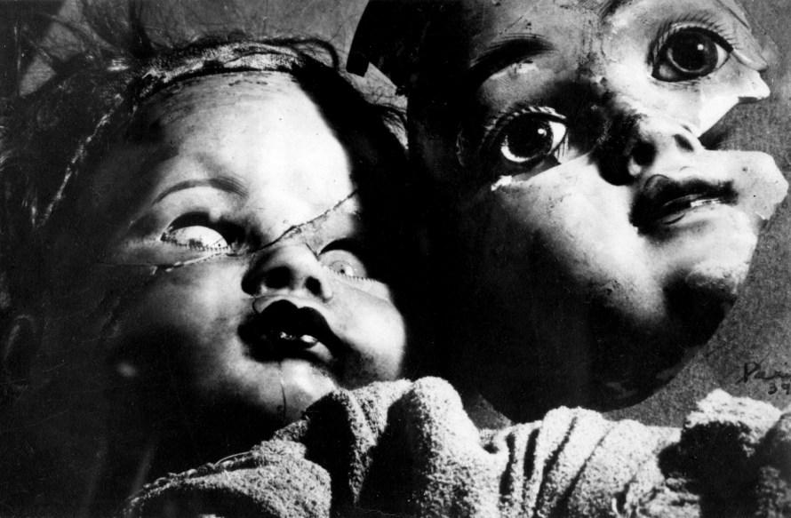 Kati Horna: Cím nélkül, 1939, Dolls of Fear sorozat.  © Etherton Gallery