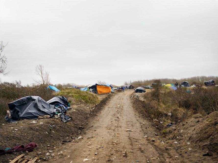 Részlet Henk Wildschut  Ville de Calais című sorozatából. Calais, France, 2015. SUNDAY, MARCH 29, 2015, 16:53 A művész jóvoltából.