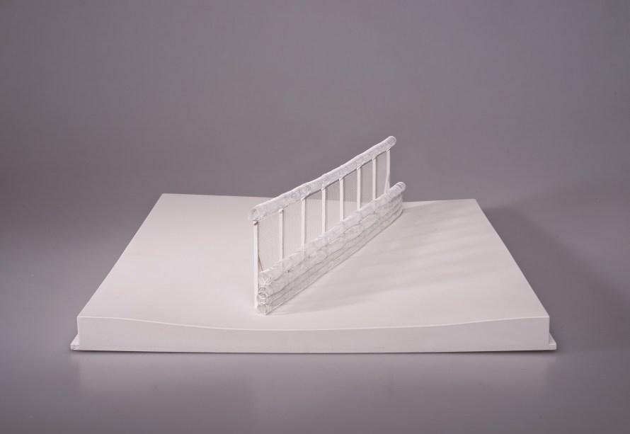 Részlet Łukasz Skąpski The Clinch – New Architecture of European Borders című sorozatából. Magyar-szerb határ. 2017. A művész jóvoltából.
