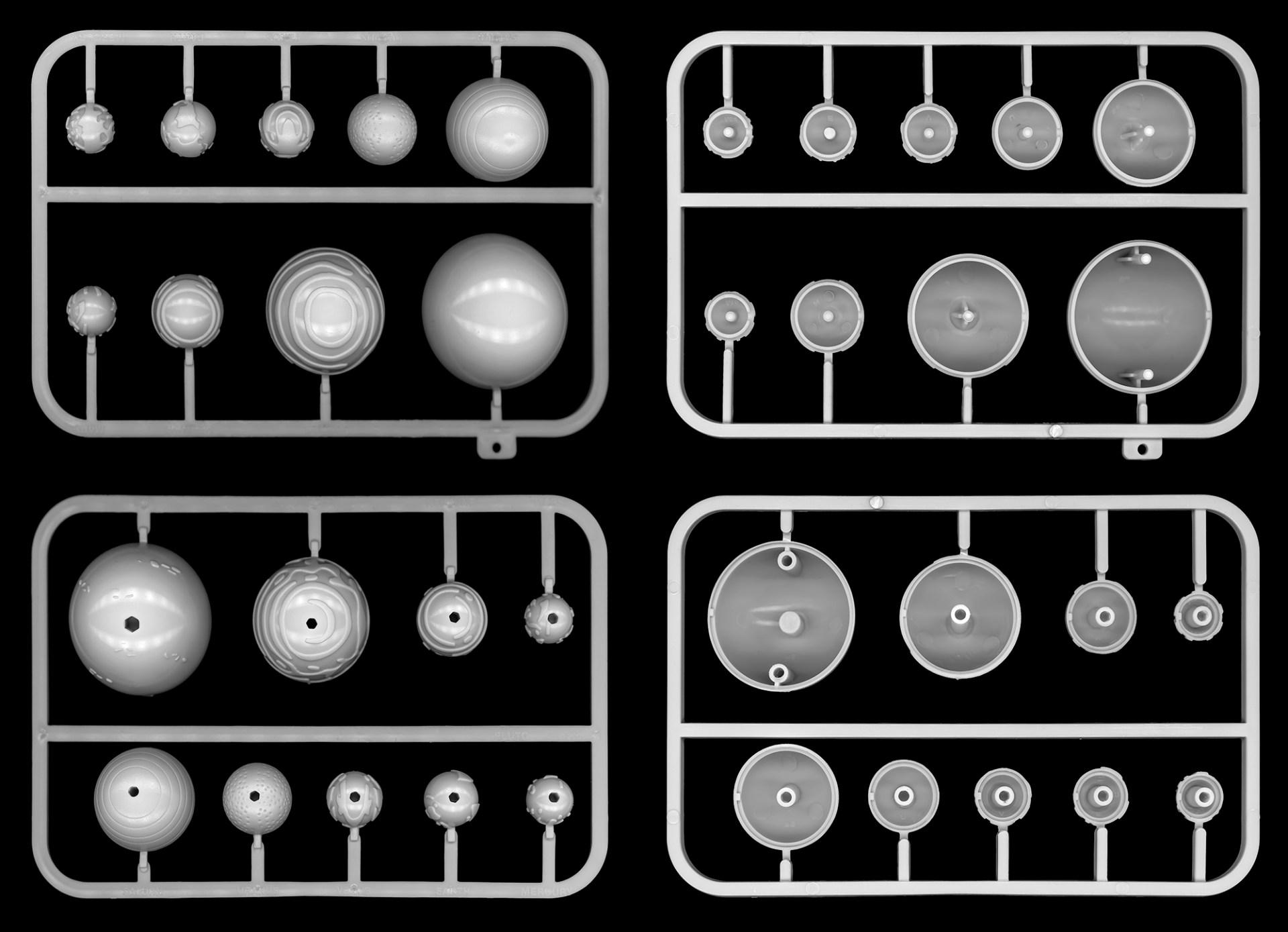 Deim Balázs: Plastic planets, Space sorozat, 2017.