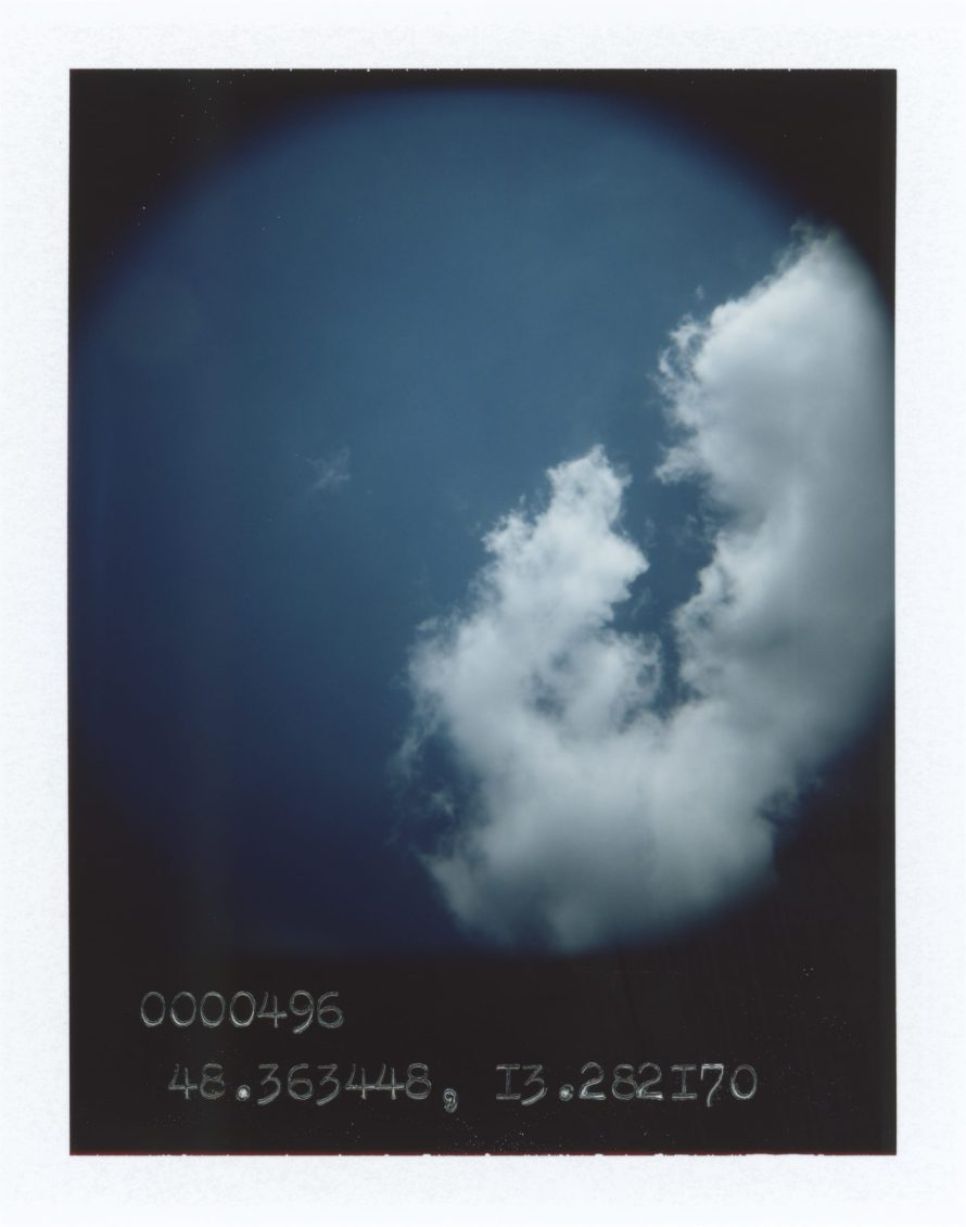 Anton Kusters: Kirchham bei Pocking   0000496   48.363448, 13.282170 (EX) from The Blue Skies Project. FP-100C peel-apart instant film.