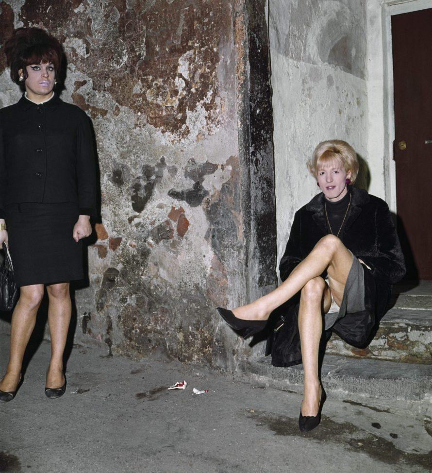 Lisetta Carmi, From the I travestiti [The Cross-dressers] series, 1965-1967. Courtesy of Martini & Ronchetti.
