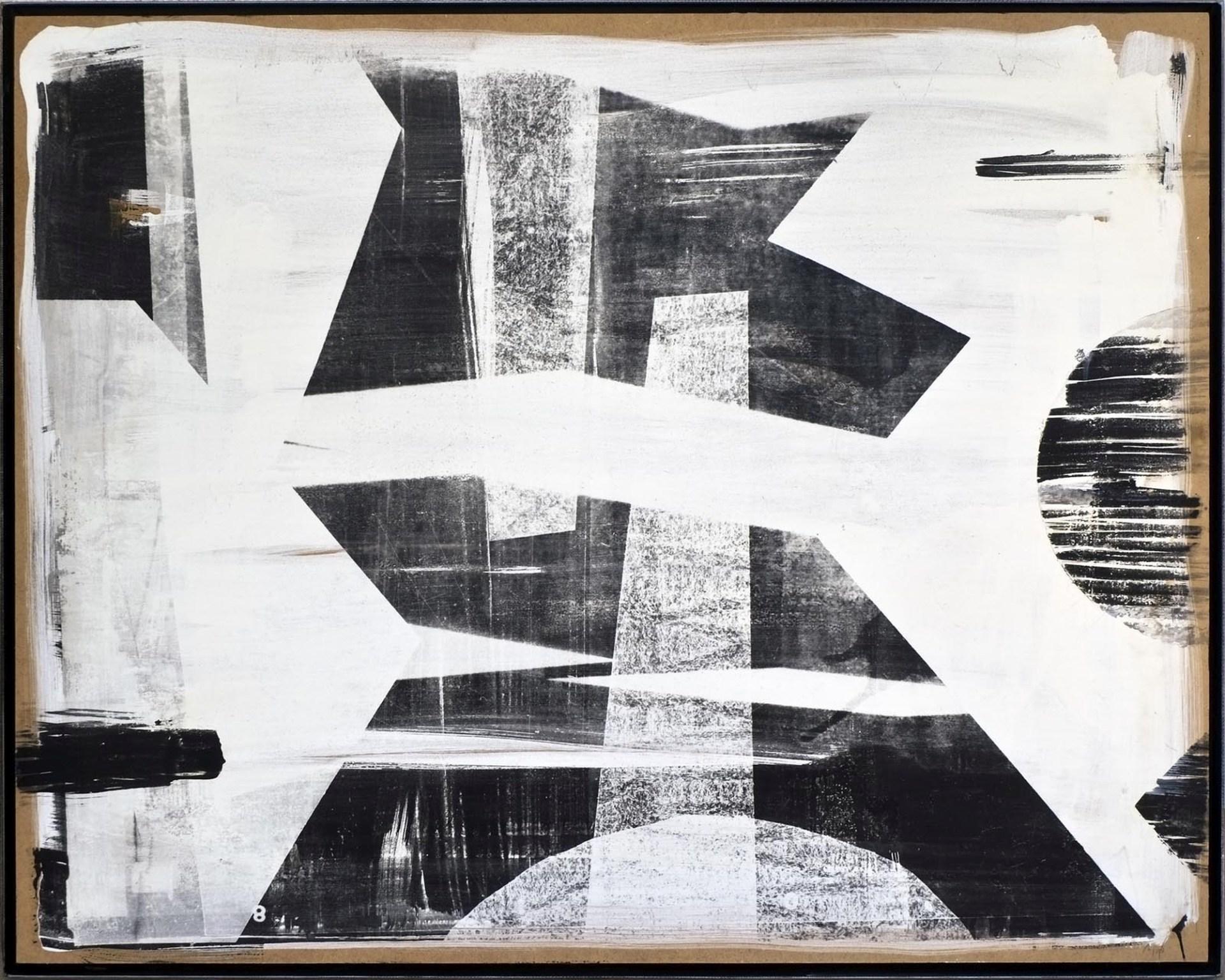 Minyó Szert Károly: 7layer-20, 2018, 80x100 cm, analóg fotogram, ezüstbromidzselatin, falemez © Minyó Szert Károly