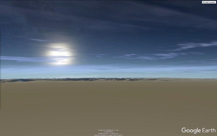 Johan F. Karlsson: Double Sunrise, Greenland, 18h52min