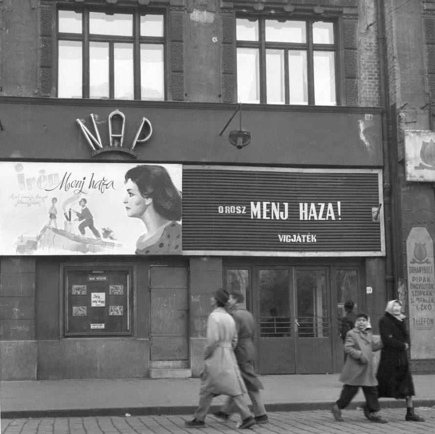 Chochol Károly: Orosz, menj haza! részlet az 1956, 56 kép című albumból