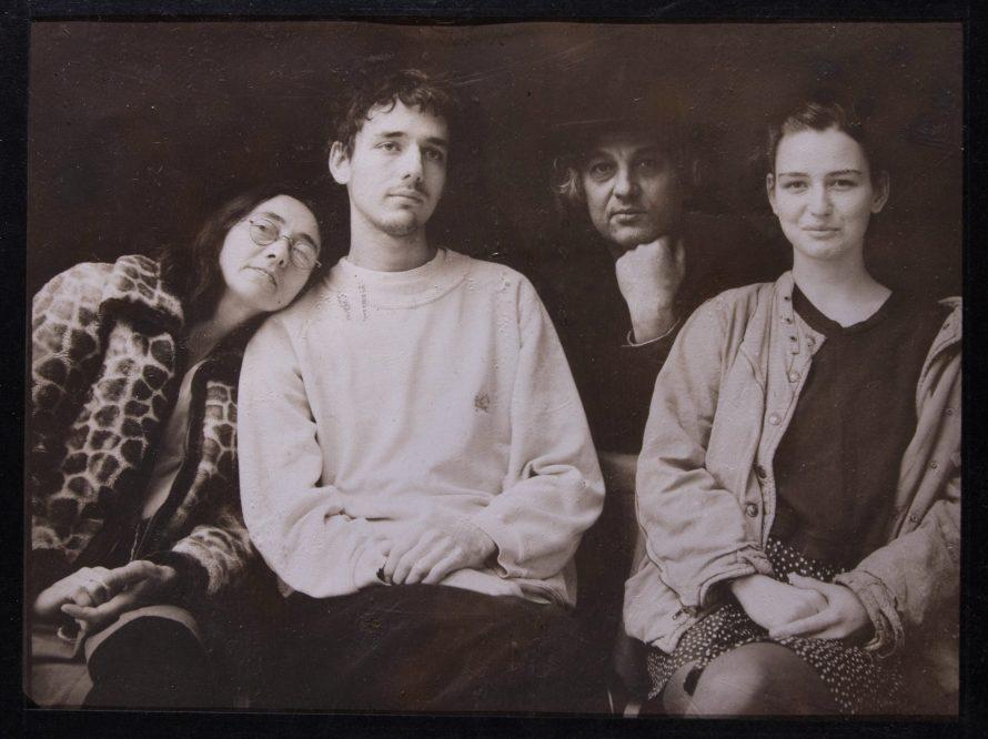 Zalka Imre: Durst György és családja 2006, 18x24 cm, argentotípia