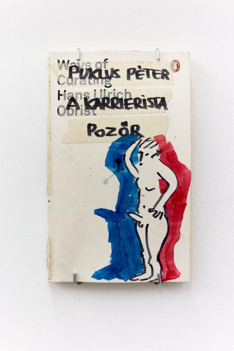 Puklus Péter: Puklus Péter a karrierista pozőr című alkotása. Fotó: Biró Dávid