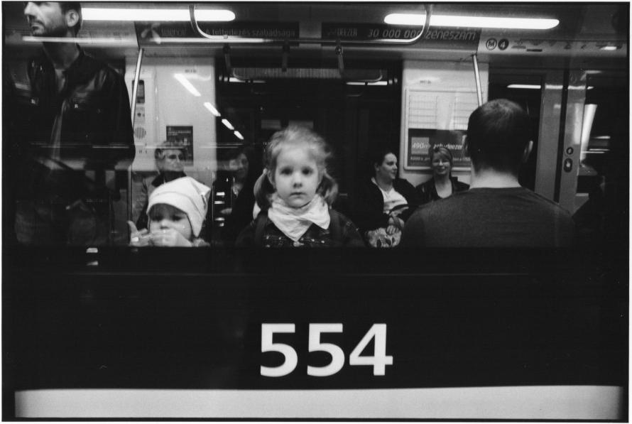 Benkő Imre: 4-es metró, Budapest, 2014 © Benkő Imre