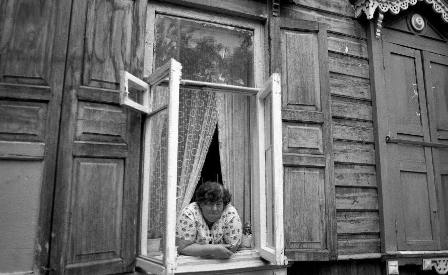 Photo: Lenke Szilágyi:  Irkutsk, 2001