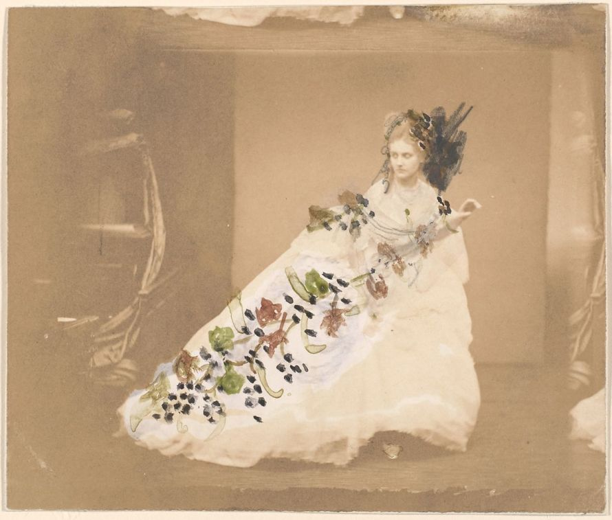 Fotó: Pierre-Louis Pierson: La Frayeur, 1861-67 David Hunter McAlpin Fund, 1975 © The Metropolitan Museum of Art