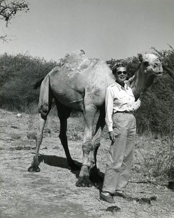 Photo: Pierre Durand-Ruel: Ylla, Africa, 1952 © Pryor Dodge