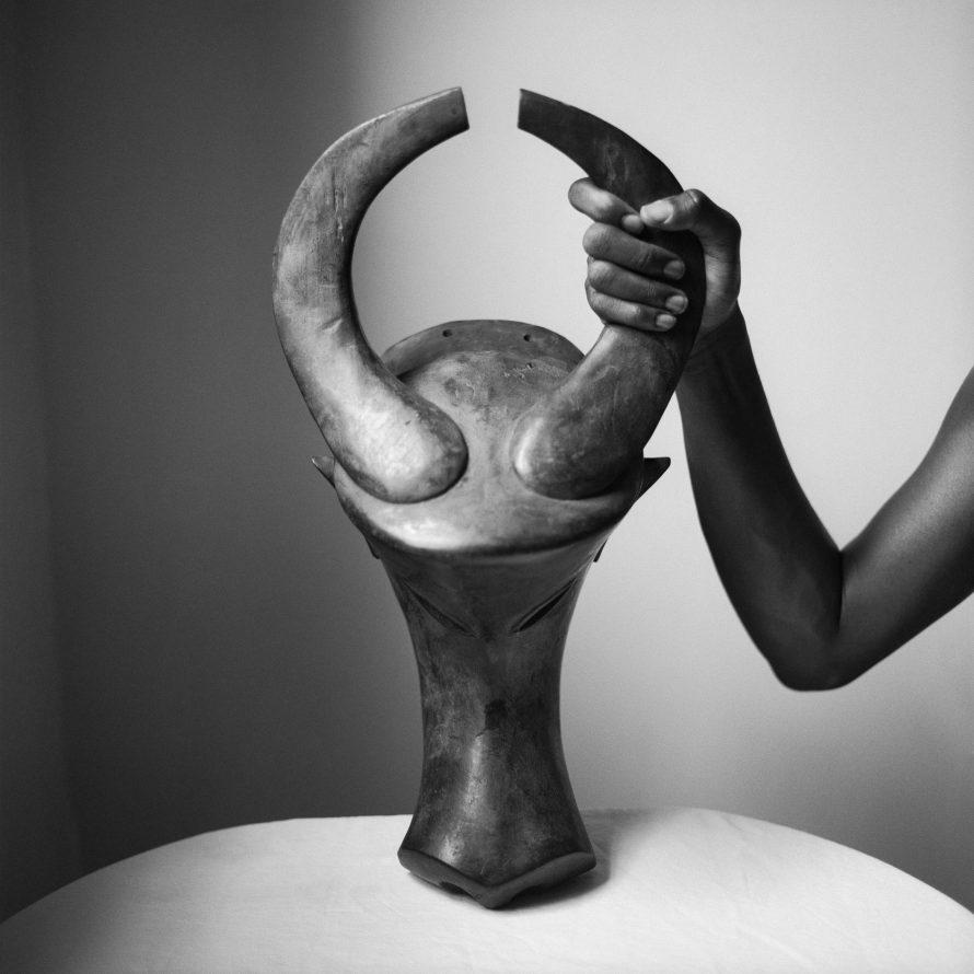 Bull Mask from the Ivory Coast, 2019 © John Edmonds / courtesy of the artist