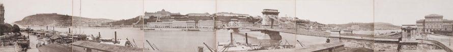 Kozmata Ferenc: Panorama of Budapest, c.1880s, Courtesy of Sotheby's
