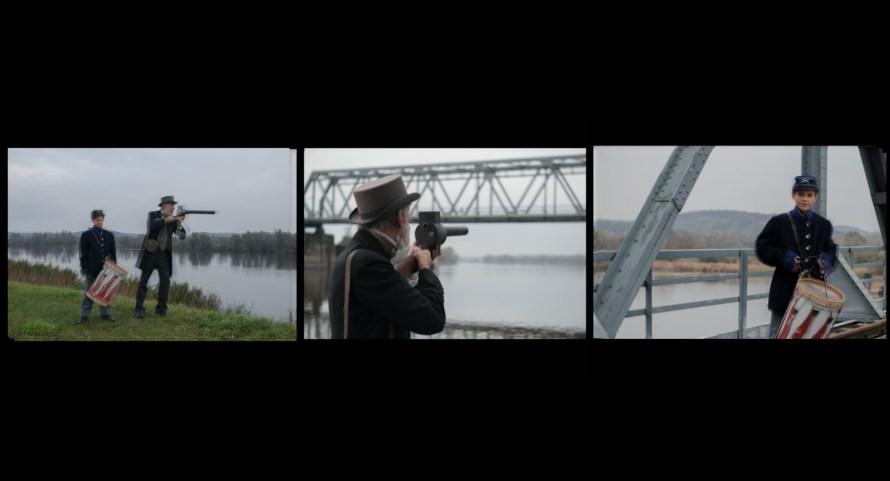 Hámos Gusztáv – Katja Pratschke: Kötél, 2016, videó hanggal, 27' (film still), a Molnár Ani Galéria jóvoltából