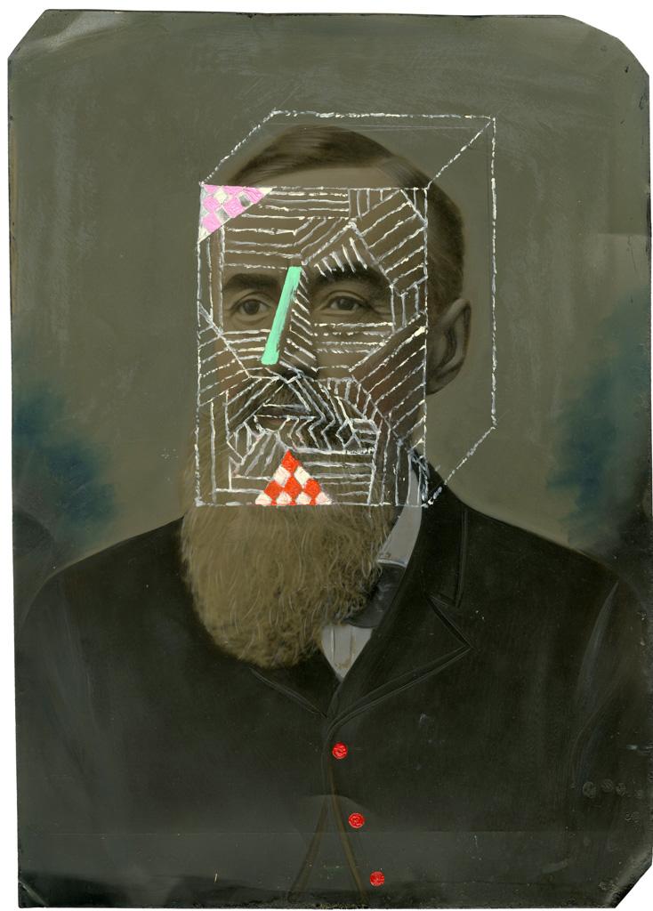 Fotó: <b>Duane Michals</b>: James Joyce, 2012<br> © Duane Michals. Courtesy of DC Moore Gallery, New York