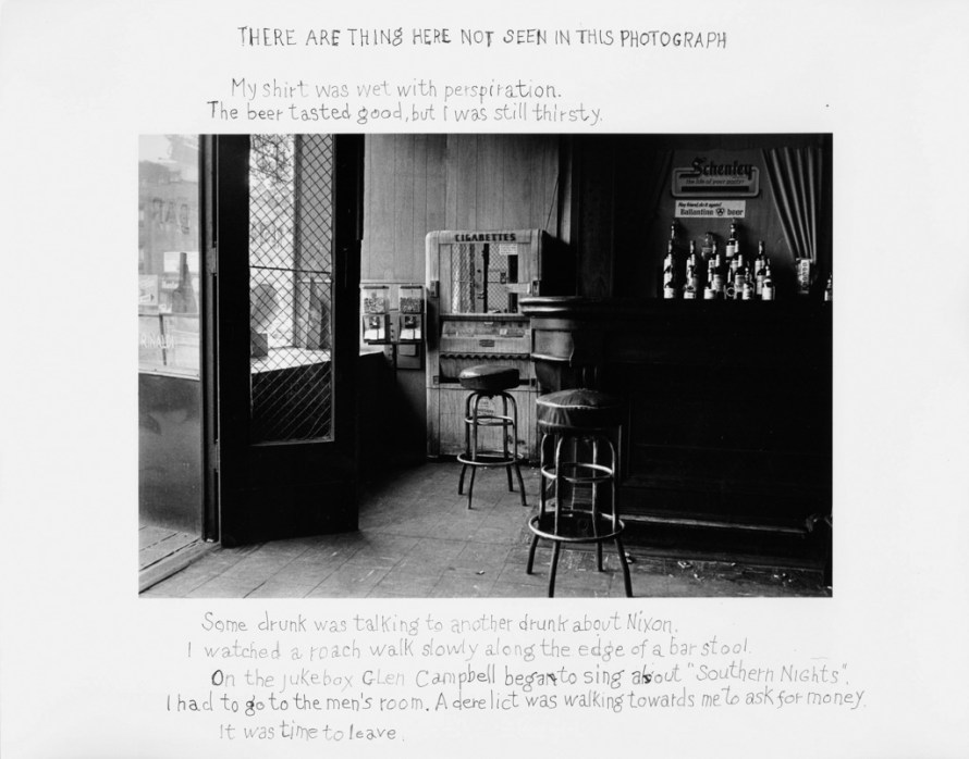 Fotó: <b>Duane Michals</b>: There Are Things Here Not Seen in This Photograph, 1977 <br> © Duane Michals. Courtesy of DC Moore Gallery, New York