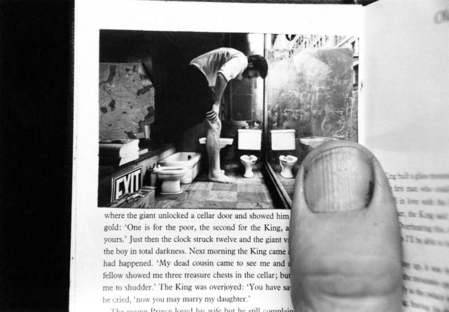 Fotó: <b>Duane Michals</b>: Things Are Queer, 1973<br> © Duane Michals. Courtesy of DC Moore Gallery, New York