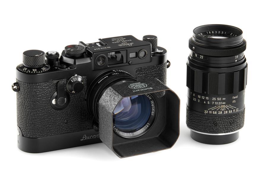 Fotó: Leica IIIg black paint outfit+Elmarit 2.8/90mm