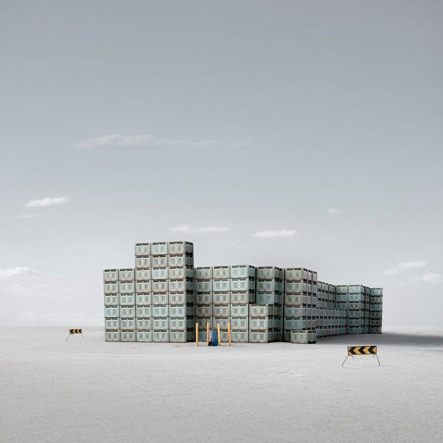 Fotó: Allen Koppe: On Route © Allen Koppe / Minimalist Photography Awards