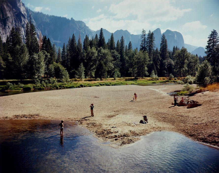 Fotó: Stephen Shore:  Merced River, Yosemite National Park, California August 13, 1979 © PHILLIPS<br>  Leütési ár: $37.800