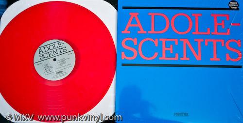 Adolescents - LP on opaque red vinyl