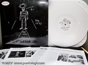 The Offs First Record white vinyl
